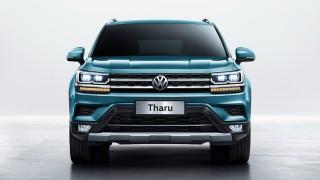 (foto) Oficial: Conceptul VW Powerful Family SUV a fost numit VW Tharu şi va fi un model global