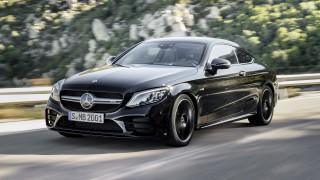 (foto) Premieră mondială: Mercedes-Benz C-Class Coupe & Cabriolet facelift debutează şi în versiuni AMG 43