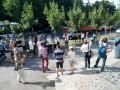 (foto) Protest în fața Procuraturii Generale în susținerea lui Voloc. Ce spune actorul