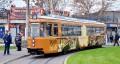 (foto) Tramvaiul Centenarului a fost lansat la Iași. Cum arată acesta pe străzile fostei capitale a României