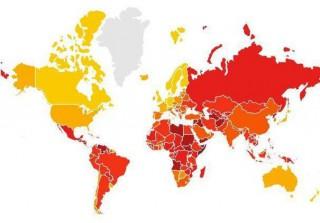 (infografic) Transparency International: România ocupă locul 25 din 28 în cadrul Uniunii Europene privind percepţia gradului de corupţie