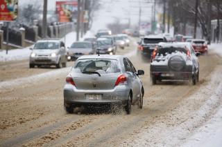 InfoTrafic: Iată pe ce străzi din capitală se circulă cu dificultate la această oră