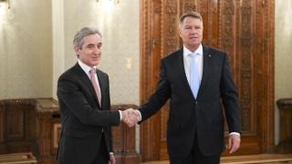 Iurie Leancă, într-o vizită de lucru la București. S-a întâlnit cu președintele României, Klaus Iohannis