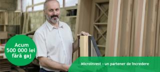 Microinvest oferă credite pentru afaceri de până la 500 000 de lei fără gaj