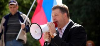"""Oleg Topolinițkii este candidatul pentru funcția de primar de Bălți, al partidului """"Ruso-Slavean"""""""