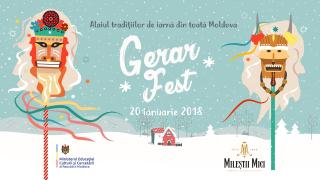 Pe 20 ianuarie toate tradițiile de iarnă din Moldova se adună la GERAR FEST