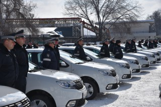 Poliția a achiziționat 42 de automobile noi în valoare de 8.3 milioane de lei. Mașinile primite le vor înlocui pe cele vechi