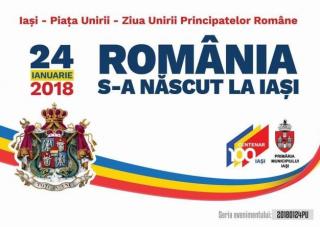 """""""România s-a născut la Iași"""". 159 de ani de la Mica Unire, marcați mâine de românii de pe ambele maluri ale Prutului"""