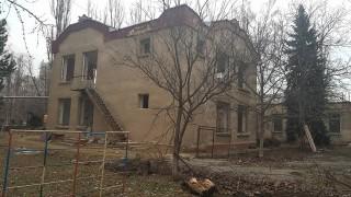 (foto) Grădiniță din Chișinău, aparent fără copii, vândută unui agent economic, asta deși o altă grădință din preajmă era supraaglomerată