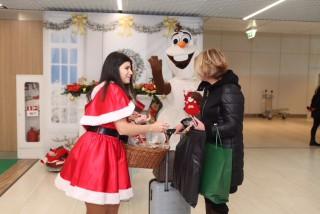 Surprize de Crăciun la Aeroportul Chișinău