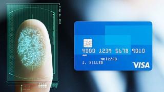 Un nou card VISA poate înlocui PIN-ul cu amprenta