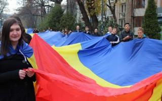 Un drapel de 100 de metri va uni Moldova cu România