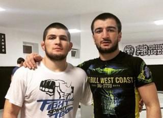 Verișorul luptătorului rus Khabib Nurmagomedov a devenit luptător UFC