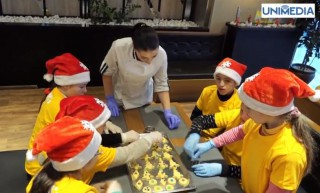 (video) Ateliere culinare pentru copii cu Mom's Burger și Școala Internaționala Heritage