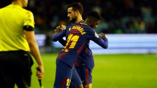 (video) Barcelona a remizat cu Celta Vigo în partida tur al optimilor Cupei Spaniei.Ousmane Dembele a revenit pe teren după o pauză de mai bine de 100 de zile