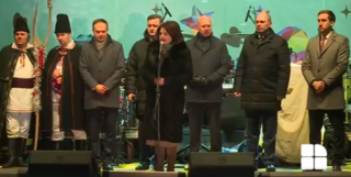 """(video) Anul electoral începe din ianuarie? O delegație PD în frunte cu Candu și Filip l-au lăudat în lipsă pe Plahotniuc la Nisporeni: """"O să simțiți energia pozitivă care vine de la această persoană"""""""
