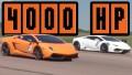 (video) Drag race: 2000 de CP plus 2000 de CP