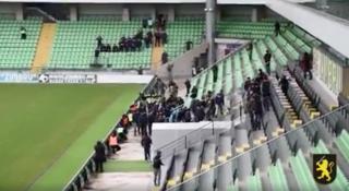(video) Exerciții antitero, la stadionul Zimbru: Polițiștii au simulat un exercițiu de luare a ostaticilor în timpul unui meci de fotbal