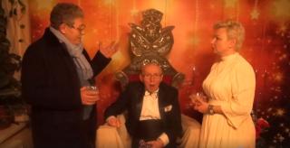 """(video) Maestrul Gheorghe Urschi, felicitat de Mihai Ghimpu: """"O limbă vorbim, o națiune suntem, o țară să fim"""""""