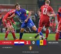 (video) Naționala Moldovei a cedat la limită în amicalul cu Croația! Singurul gol  a fost marcat în debutul partidei