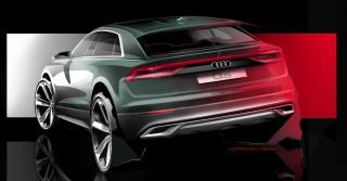 (update/video) Noul Audi Q8 va fi prezentat la 5 iunie 2018. Până atunci îl vedem într-un serial