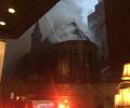 (video) O biserică ortodoxă din centrul New Yorkului a fost cuprinsă de flăcări chiar în ziua de Paște