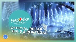 (video) Piesele celor șase țări care intră automat în finala Eurovision 2018, la Lisabona