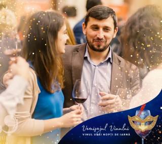 """(video) """"Vinul unei nopți de iarnă"""": Vernisajul Vinului 2017, transformat în bal mascat"""