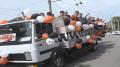 Zaria a defilat prin Bălți cu trofeul Cupei Moldovei! Camionul în care s-a aflat echipa a fost escortat de polițiști