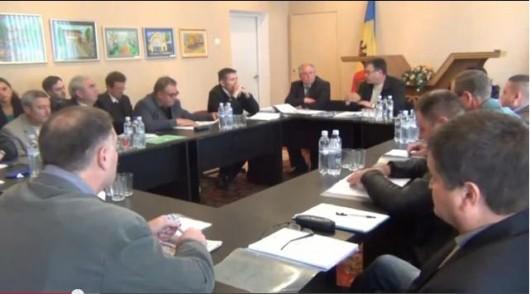(video, doc)  Ședința Consiliului din Cojuşna a fost amânată