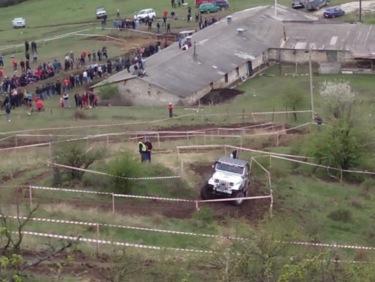 (Video) Jeep Trial Cross la Strășeni