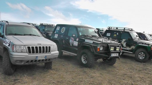 (video) Show și adrenalină la Jeep Trial Cross Strășeni