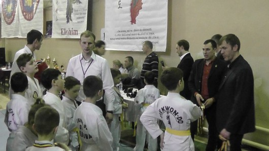(Video) O nouă ediție a Cupei Elohim la taekwon-do
