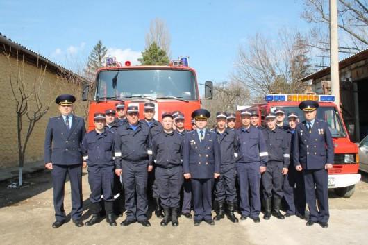 Serviciul Situații Excepționale din Strășeni și-a marcat ziua profesională