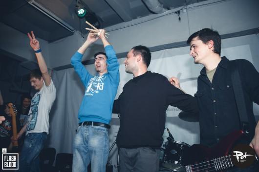 Trupa Flash Blood a evoluat într-un concert de excepție la Chișinău