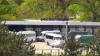 (Foto) Microbuzele pe ruta Strășeni-Chișinău blocate să circule spre capitală