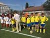 (Video) La Strășeni a fost renovat un mini teren de fotbal