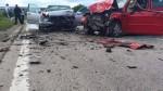 (COMUNICAT) Accident pe traseul Chișinău-Bălți! Un mort și patru răniți, printre care doi copii