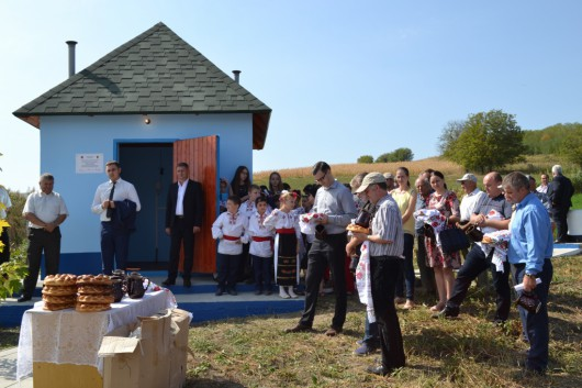La Micleușeni a fost inaugurat sistemul de aprovizionare cu apă