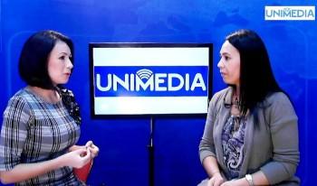 (video) Cosmina Novacovici în studioul UNIMEDIA