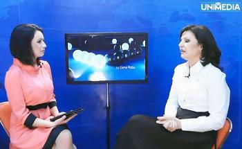 (video) Viorica Nagacevschi în studioul UNIMEDIA
