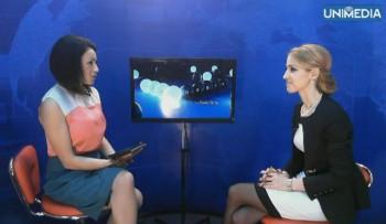 (video) Corina Cojocaru în studioul UNIMEDIA