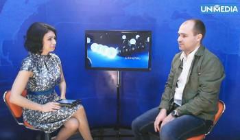 LIVE: Cristian Saulea în studioul UNIMEDIA