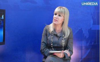 LIVE: Elena Udrea în studioul UNIMEDIA