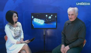 LIVE: Eugen Doga în studioul UNIMEDIA
