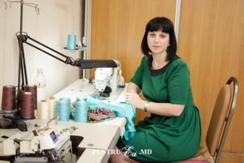 Natalia Bolohan în studioul UNIMEDIA