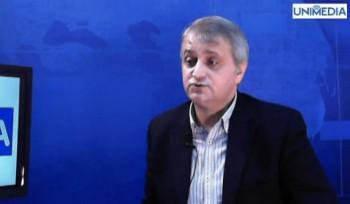 Petru Macovei în studioul UNIMEDIA