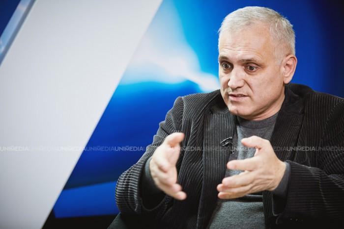 Primarul comunei Capaclia, Alexei Busuioc, în studioul UNIMEDIA