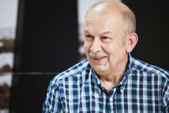 Victor Ciobanu în studioul UNIMEDIA