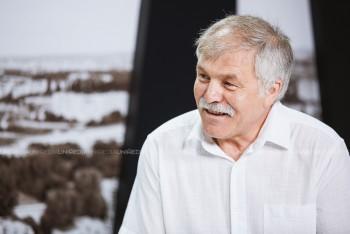 Alecu Reniță în studioul UNIMEDIA
